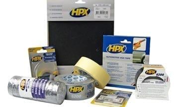 Двухсторонняя и односторонняя лента (скотч) HPX (Бельгия). Изолента и спецленты HPX
