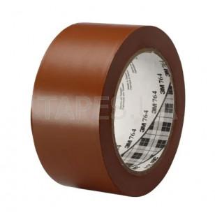 Разметочная лента 3М 764I для маркировки пола (50мм х 33м х 0,13мм) коричневый цвет