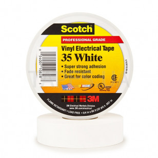3m scotch vinyl 35 white