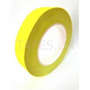 Флуоресцентный скотч желтого цвета