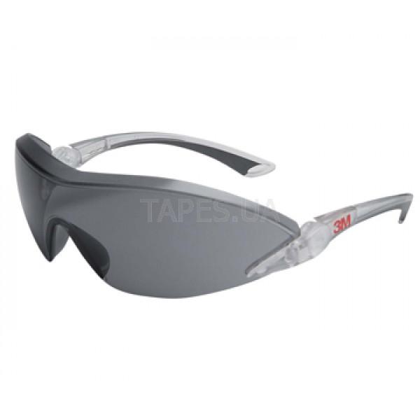 a82da2b60ca0 Защитные очки с козырьком 3М 2841, комфорт, темные