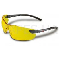 Улучшенные защитные очки 3М 2822, классические, желтые