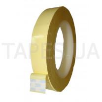 Полиэстеровая лента 3M 1350F-1 (3мм x 66м), жёлтая, акриловый клей, 130 C, 5500 В