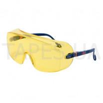 Защитные очки 3М 2802 поверх корректирующих
