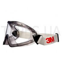 Закрытые очки 3M 2890А ацетатные, прозрачные AF