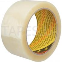 Упаковочная лента 3M 371 общего назначения, каучуковый адгезив, (50мм х 66м х 0,048мм)