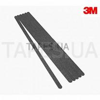 Антискользящая лента 3M 710 Safety-Walk грубой зернистости, черный цвет (25мм х 1м)