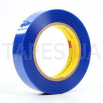Термостойкая самоклеющаяся лента 3М 8901 голубая (25мм х 66м х 0,06мм)