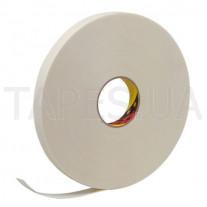 Вспененный скотч 3М 9508 W белого цвета, толщина 0,8 мм