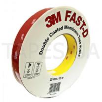 Двухсторонний скотч для мембран 3M 8069 FAST-D (25мм х 50м)