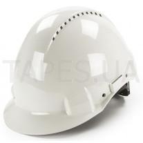 Защитная каска 3M H-700N-VI с храповиком и вентиляцией, белый цвет