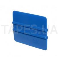 Пластиковый мягкий ракель 3M PA1-B синий цвет (70мм х 100мм)