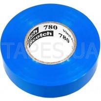 Изолента 3М Scotch 780 синий цвет (19мм х 20м х 0,18мм) для защиты и изоляции