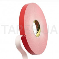 Двухсторонний Скотч 3М™ 4912F VHB™ белый, Scotch вспененная акриловая основа, толщина ленты 2мм, 150/93 °С