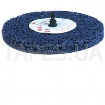 Зачистной круг (диск) 3М 05814 Clean and Strip с креплением Roloc+, градация XT-ZR, пурпурный, 100мм х 13 мм х R+