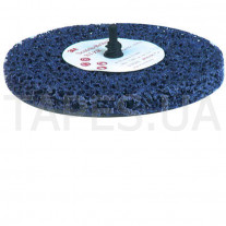 Зачистной круг (диск) 3М 05815 Clean and Strip с креплением Roloc+, градация XT-ZR, пурпурный, 125мм х 13 мм х R+