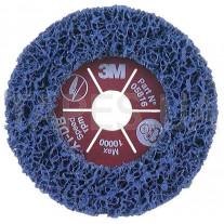 Фибровый круг 3М 05816 Clean and Strip под болгарку XT-DB, пурпурный, диаметр 115 мм х 22 мм