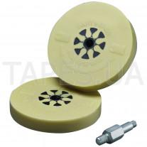 Диск 3М 07498 для снятия клейких лент + шпиндель, градация GR-DC, 100 мм х 16 мм