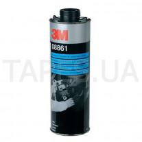 Покрытие 3М 08861 Body Schutz, цвет - черный, неокрашиваемое, 1л, бутыль