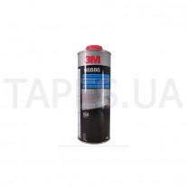 Гладкое покрытие 3М 08886, антигравийное, серый цвет, 1л, бутыль