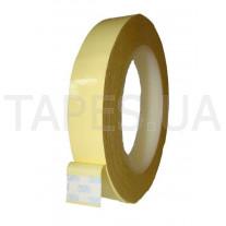 Полиэстеровая лента 3M 1350F-1 (40мм Х 66м), жёлтая, белая, чёрная, акриловый клей, 130 C, 5500 В