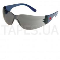 Открытые защитные очки 3М 2721, классические, темные