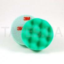 Зеленый многоразовый поролоновый полировальник 3М 50499 Perfect-It™ lll для пасты 50417, 75 мм, на полировальную машинку