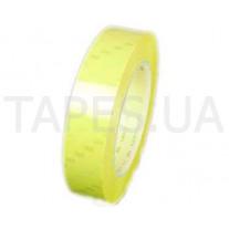 Полиэстеровая лента 3M 56 (25мм Х 66м), жёлтая, резиновый термоусаживаемый клей, 130 C, 5500 В
