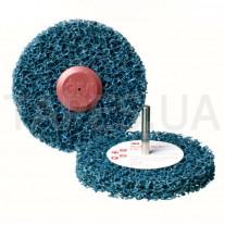 Зачистной круг (диск) 3М 57014 Clean and Strip под шпиндель, градация CG-DC, синий, 150мм х 13 мм