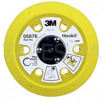Оправка 3М 59005 для абразивных кругов (дисков) Hookit, M8, LD801А, диаметр 150мм, мягкая конфигурация, 9 отверстий, Festo