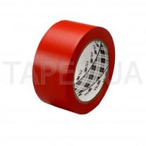 Разметочная лента 3М 764I виниловый скотч на основе ПВХ, красная (50мм х 33м х 0,13мм)