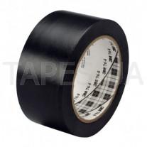 Разметочная виниловая лента 3М 764I на основе ПВХ, черная (50мм х 33м х 0,13мм)