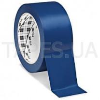 Клейкая разметочная виниловая лента 3М 764I на основе ПВХ, синяя (50мм х 33м х 0,13мм)