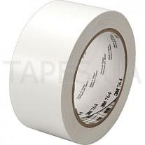 Разметочная лента 3М 764I для маркировки пола (50мм х 33м х 0,13мм) белый цвет