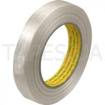 Армированный нитями упаковочный скотч 3М 8956 (50мм х 50м х 0,13мм)