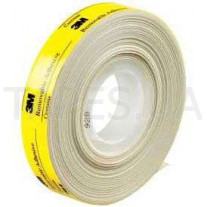 Лента 3М 928, белая, 12мм х 16,5м х 0,05мм, бумажная основа, 65/50 °С, для соединений, требующих легкого удаления или повторного переклеивания