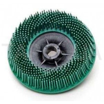 """Зачистной круг 3М 07580 Bristle для зачистки под """"болгарку"""", зеленый, диаметр 115 мм, М14, градация - грубый, диск-щётка 50"""
