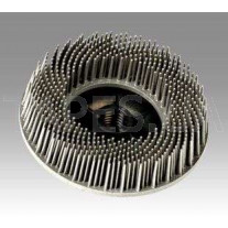 Зачистной круг 3М 07582 Bristle для зачистки под болгарку, белый, диаметр 115 мм, М14, градация - тонкий, диск-щётка 120
