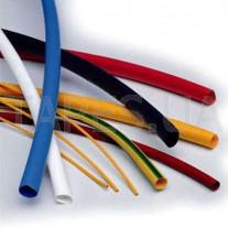 Тонкостенная термоусаживаемая трубка (термотрубка) 3M, GTI 3000, 24/8 мм, черная, коричневая, красная, желтая, 1м