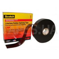 Изолента 3М Scotch™ 130С самослипающаяся на основе этиленпропиленовой резины с повышенной теплопроводностью (25мм x 9,1м х 0,76мм)