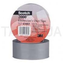 Монтажная лента3М Scotch 2000 (51мм х 61м х 0,15мм)