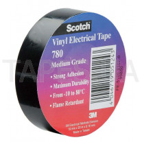 3М 780 Изолента черная Scotch™ (19мм х 20м х 0,18мм)