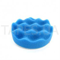 Синий ультратонкий многоразовый поролоновый полировальник 3М 50457 Perfect-It™ lll для пасты 3М Ultrafina 50383, 75 мм, на полировальную машинку