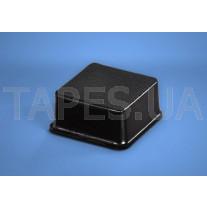 Квадратный бампер BS-4 черный цвет, H=9,7мм, D=19,8мм, BS Inc.