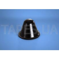 Конический бампер BS-37 черный цвет, H=14,2мм, D=18,3мм, BS Inc.