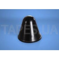 Конический бампер BS-47 черный цвет, H=19,1мм, D=19,1мм, Bumper Specialties Inc.
