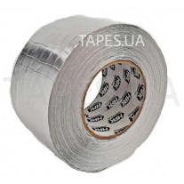 Алюминиевая фольга армированная сеткой HPX, длина рулона 50м, толщина 0,03мм