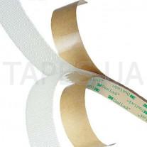 Тонкопрофильный Дуал Лок 3М 4570, полупрозрачный, 25мм х 2,7мм х 1м, до 100 циклов, 70°С