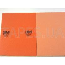 Тонкая абразивная губка 3M Softback 03809/50883 Fine, P280, оранжевая