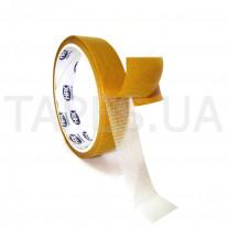 Тканевая двухсторонняя армированная лента HPX 18220 для монтажа на грубые поверхности 25мм х 25м х 0,22м